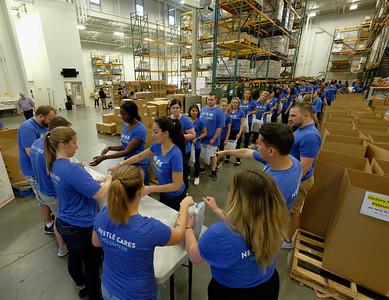 Capital Area Food Bank – Nestlé USA Volunteer Event 2018