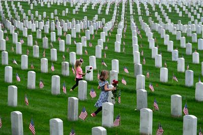 Memorial Day at Arlington National Cemetery 2018