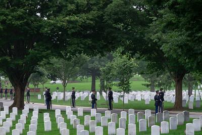 Memorial Day at Arlington Cemetery 2018