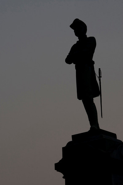 Vigil.   124th New York Regiment, commanding officer, Colonel Augustus van Horne Ellis