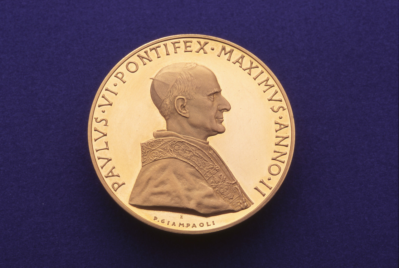 Coin from the Presidential Collection at the LBJ Museum