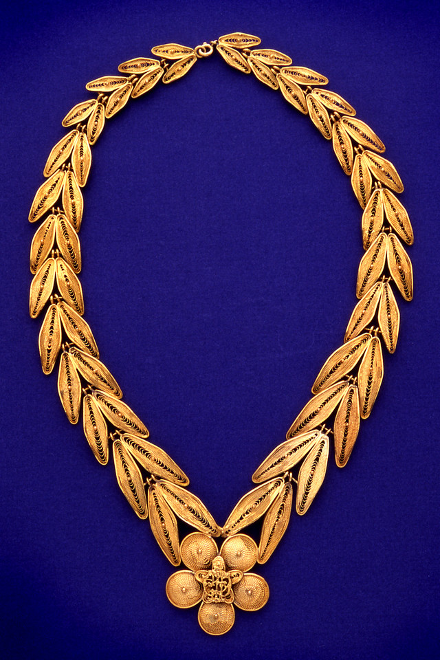 Necklace from the Presidential Collection at the LBJ Museum