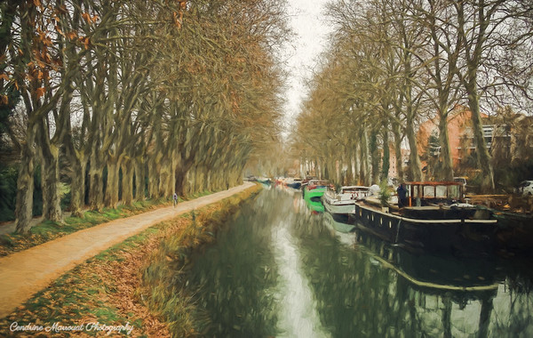 Canal du Midi (digital art)