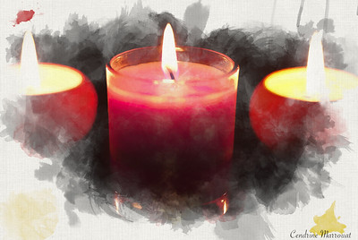 Candles (digital art)