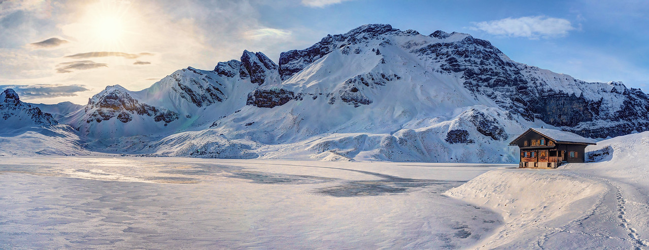 The frozen lake