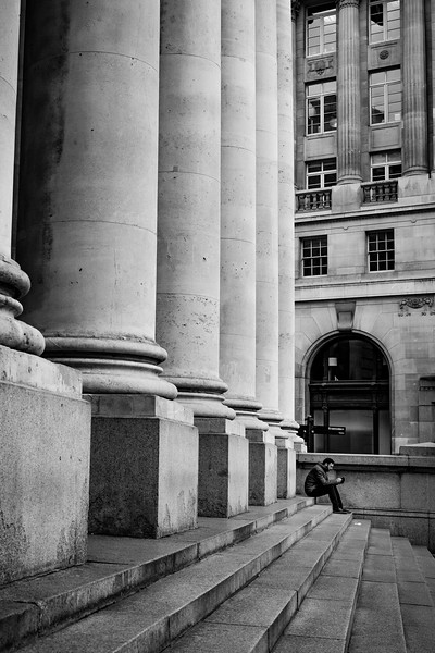 A sneak preview into my new LDN project where I am trying to see the city through my lens as I would on my travels. It's a real challenge trying to photograph scenes I see virtually everyday, but as one of the greatest cities in the world is on my doorstep I feel I should document it in my own style. This shot depicts a near deserted Royal Exchange.