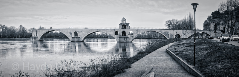 Saint Benezet Bridge - Rhone River