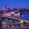 Stockholm Old Town View from Scandic Continental Hotel