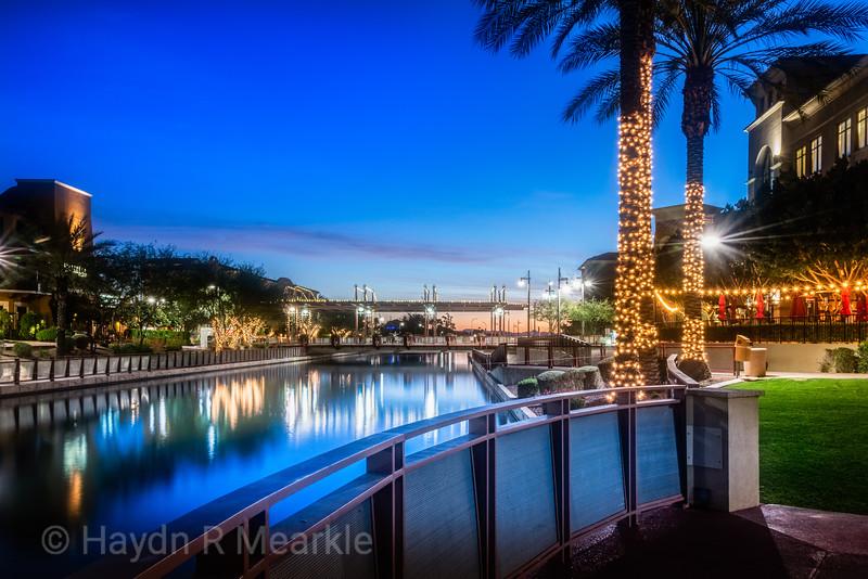 Arizona Canal, Scottsdale, Arizona