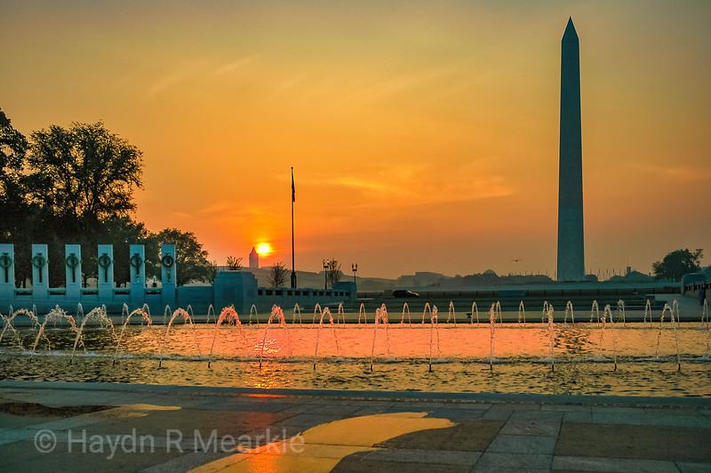 WWII Monument, Washington DC