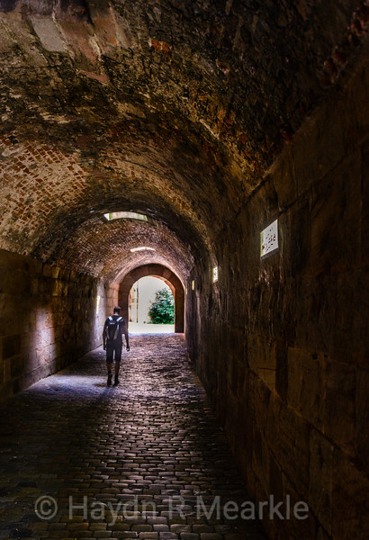 Tunnel Entrance, Nuremberg Castle, Germany