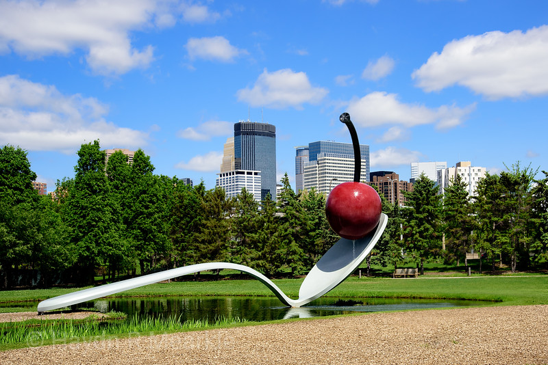 Cherry and Spoon Sculpture