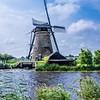 Windmills at Kinderdijk. The Netherlands
