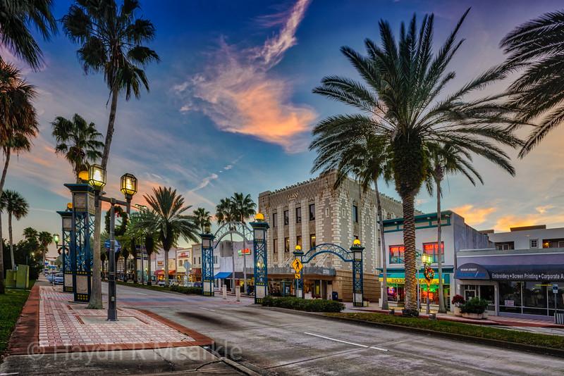 Beach Street, Daytona Beach, Florida