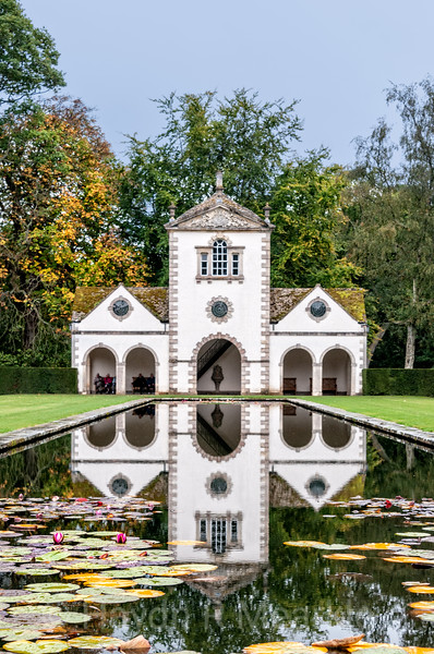 Pin Mill at Bodnant Gardens, Wales