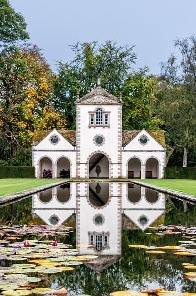 Pin Mill at Bodnant Gardens, Wales