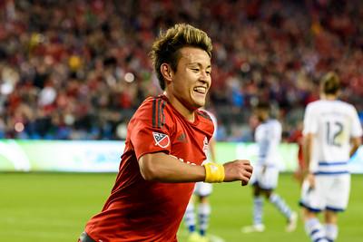 FUSSBALL - MLS 2016: Toronto FC v FC Dallas - 07-05-2016