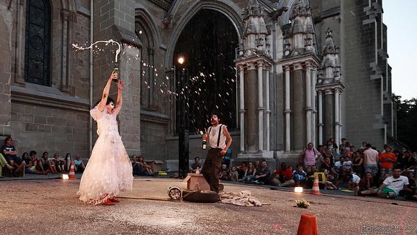 Kalash et Moumoute - Les Humains Gauches - Festival de la Cité - Sud de la Cathédrale - Lausanne - 10 juillet 2015
