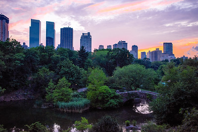 Central Park at Sunset - NYC