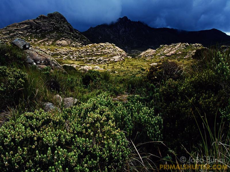 Stormy skies in Itatiaia highlands
