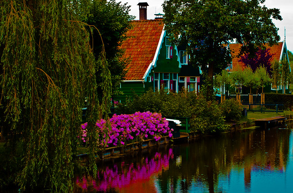 On The Canal, Kodachrome