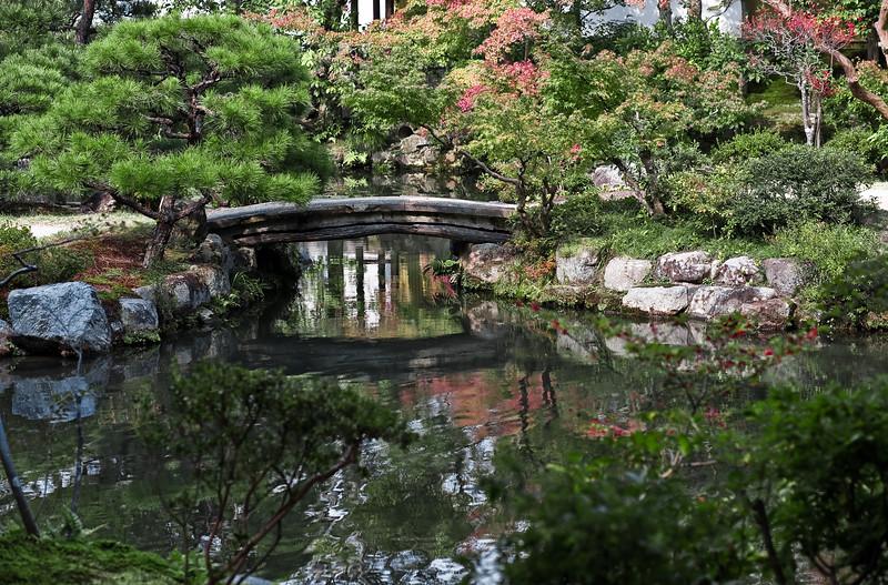 Bridge at Isuien Garden