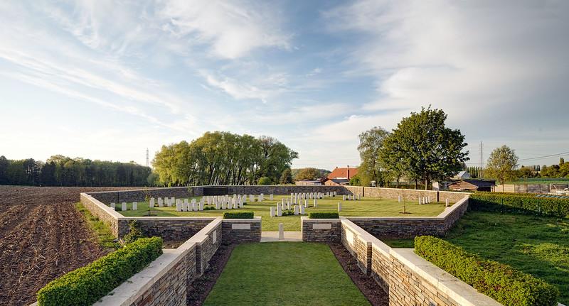 Polygon Wood Cemetery, Zonnebeke. nr 103