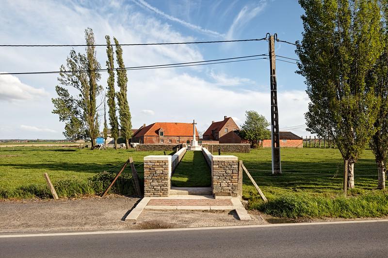 Bridge House Cemetery, Langemark (Langemarck) nr 17
