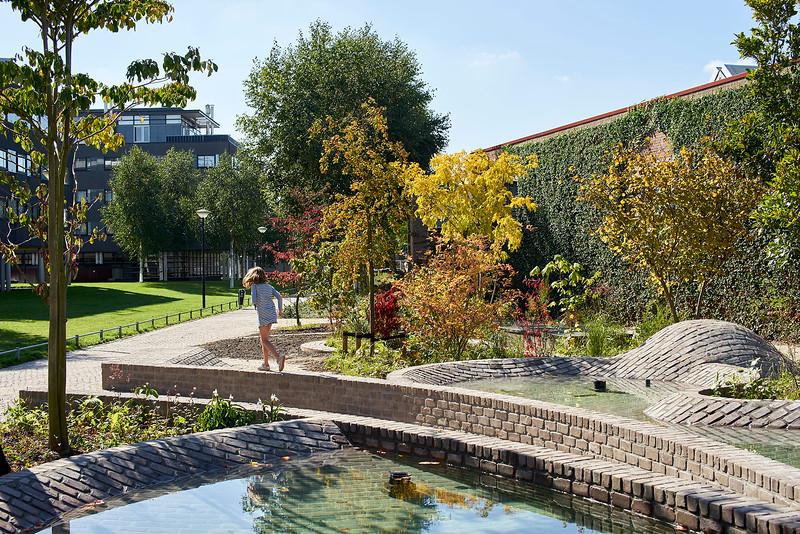 Garden Skymirror. De Pont museum. Aneesh Kapoor and Sophie Walker.