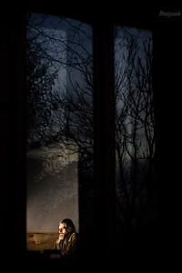 Piotr w wieczornej oazie