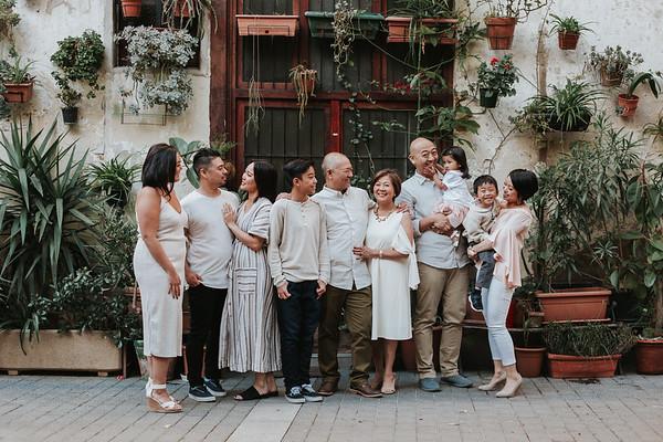 Family photo shoot  Born, Barcelona