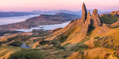 Old Man of Storr auf der Isle of Skye