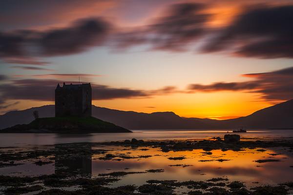 Castle Stalker in Schottland