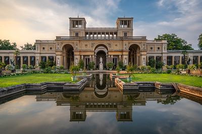 Die Orangerie im Schlosspark Sanssouci