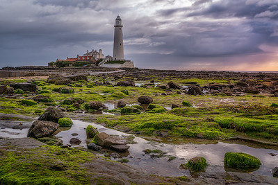 St. Mary's Lighthouse in der Whitley Bay