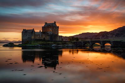 Eilean Donan Castle bei Dornie in Schottland