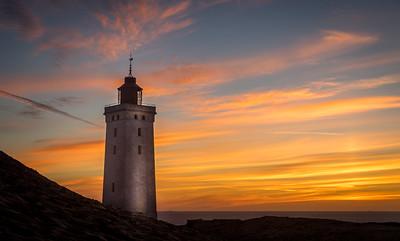 Rubjerg Knude Fyr in Dänemark
