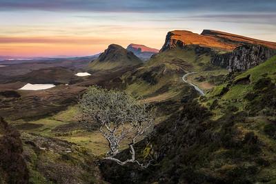The Quiraing auf der Isle of Skye