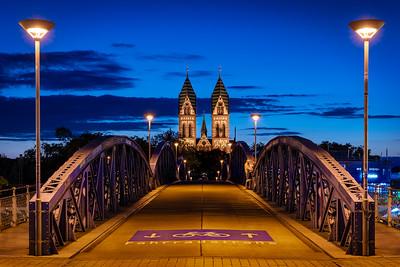 Wilwilli Brücke in Freiburg