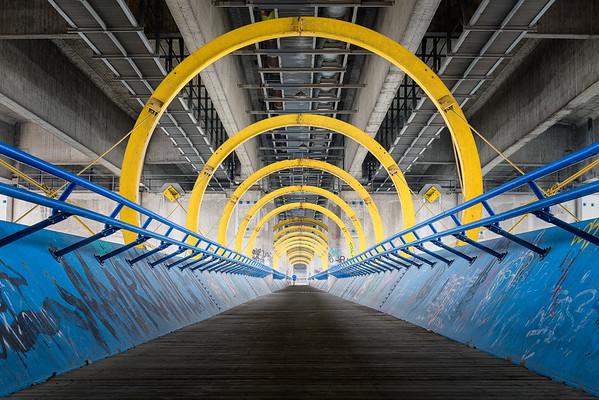 Die Wiener Praterbrücke
