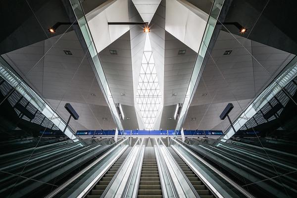 Im Wiener Hauptbahnhof