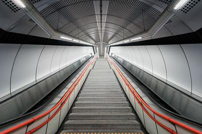 U-Bahn Scvhweglerstraße in Wien