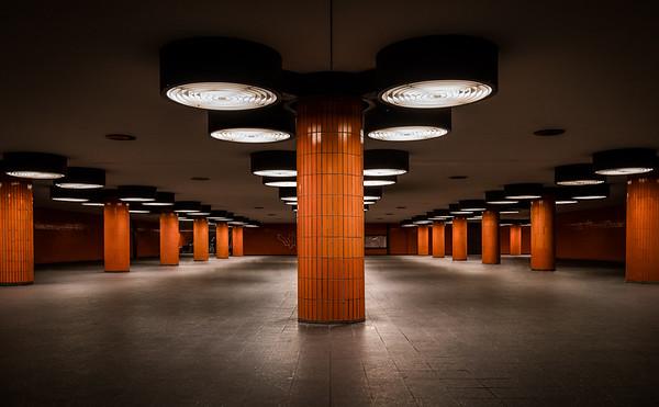 U-Bahnstation an der Messe in Berlin