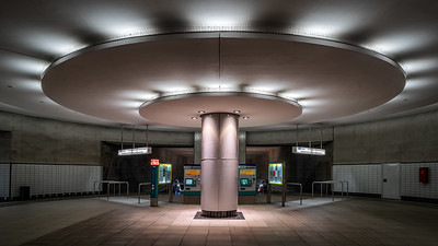 U-Bahnstation Bockenheimer Warte