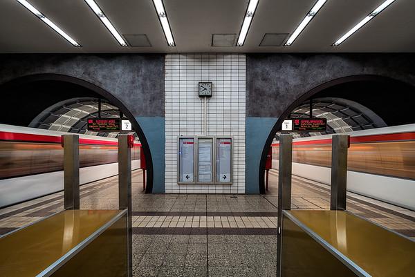 U-Bahnstation Gänsemarkt in Hamburg