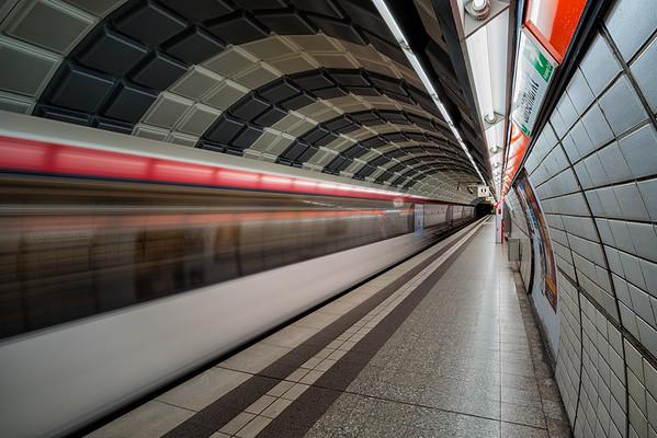 U-Bahnstation Gänsemakrt in Hamburg