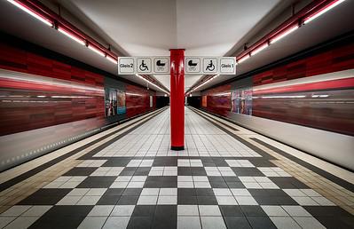 U-Bahnstation Wartenau in Hamburg