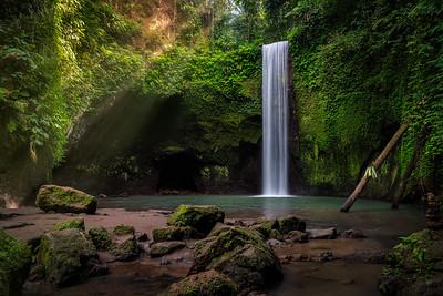 Tibumana Wasserfall
