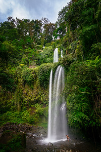 Wasserfall Sendang Gile auf Lombok