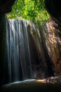Tukad Cepung Wasserfall